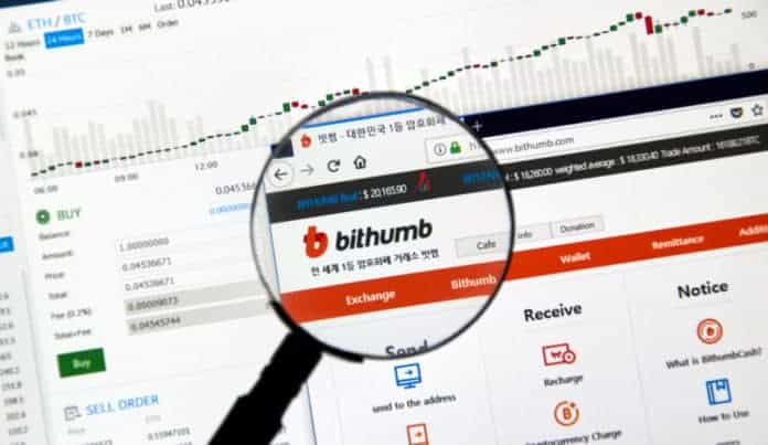 Bithumb bans trading in 11 countries. Source: Shuttershock.com