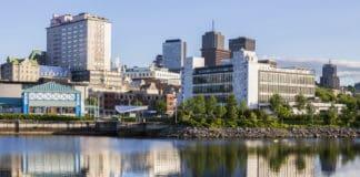 Architecture of Quebec City. Quebec City, Quebec, Canada. Source: Shutterstock.com