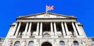 Bank of England in London, UK. Source: shutterstock.com