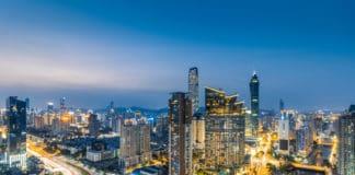 China Shenzhen City Luohu District City Skyline. Source: Shutterstock.com