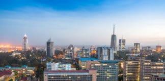 Modern Nairobi cityscape. Source: Shutterstock.com