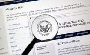 SEC ICO blockchain
