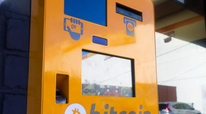 Bitcoin ATM in Los Angeles. Source: shutterstock.com
