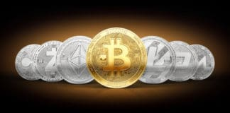 Bitcoin cryptocurrencies. Source: shutterstock.com