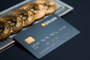 Crypto credit card. Source: shutterstock