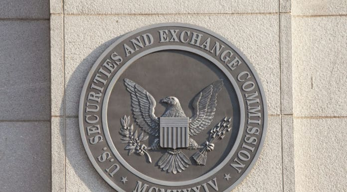 Securities and Exchange Commission logo. Source: shutterstock.com