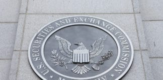 US Securities and Exchange Commission logo. Source: shutterstock