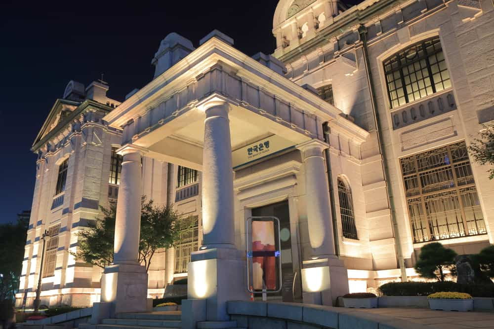 Bank of Korea. Source: shutterstock.com