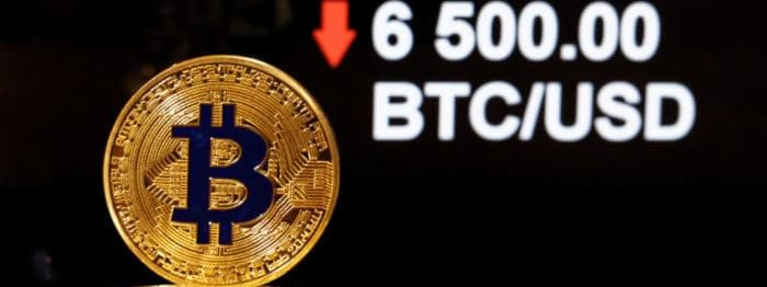 Bitcoin price, 6,500. Source: shutterstock.com