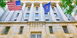 U.S. Department of Justice. Source: Shutterstock.com
