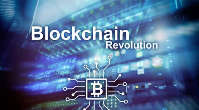 Blockchain revolution, innovation technology in modern business. Source; shutterstock.com
