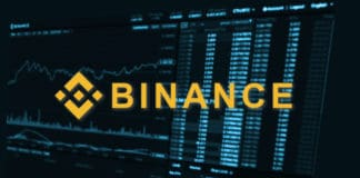 Binance is a finance exchange market. Crypto Currency background concept. Cryptocurrency BNB Binance coin. Source; shutterstock.com