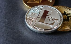cryptocurrencys Bitcoin, Litecoin, Ethereum. Source: shutterstock.com