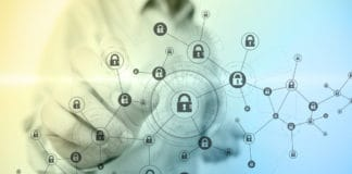 Blockchain security concept