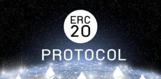 Concept of Ethereum ERC20 Token technology, Cryptocurrency blockchain platform , Digital money. Source: shutterstock.com