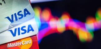 BANGKOK,THAILAND - July 27,2018: Visa credit cards on background. Source: shutterstock.com
