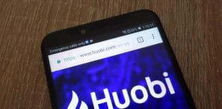 KONSKIE, POLAND - JULY 26, 2018: Huobi website displayed on a modern smartphone. Source: shutterstock.com
