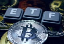 A crypto ETF - the next step towards a decentrailzed future - bitcoin ETF. Source: shutterstock.com