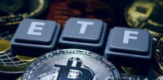 A crypto ETF - the next step towards a decentrailzed future - bitcoin ETF. Source: shutterstock.com