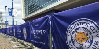 Leicester, England - 31 May 2017: Areas around King Power stadium, Leicester City FC. Source; shutterstock.com