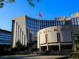 Beijing, China- September 28, 2016 The People's Bank of China (PBOC) headquarter building. Beijing city center,People's bank of China, Chinese central bank. Source: shutterstock.com