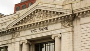 PNC Bank in Washington DC, taken May 30th 2018. Source: shutterstock.com