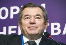 Yerevan, Armenia - October 14, 2016 International Forum of Eurasian Partnership. Sergey Glazyev. Adviser to the President of the Russian Federation. Source: shutterstock.com