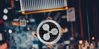 Xrp. Ripple coins crypto cryptocurrency digital finance. Source; shutterstock.com