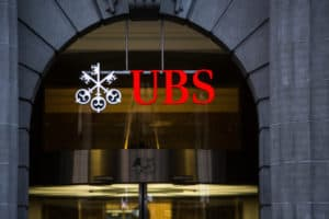ZURICH, SWITZERLAND, 27 March 2014 UBS, Switzerland's largest bank.