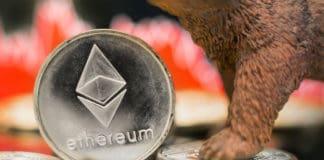 Ethereum bearish price crash