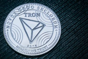 Coin cryptocurrency Tron on a grey shiny background. TRX. - ImageCoin cryptocurrency Tron on a grey shiny background. TRX. - ImageCoin cryptocurrency Tron on a grey shiny background. TRX. - ImageCoin cryptocurrency Tron on a grey shiny background. TRX. - Image