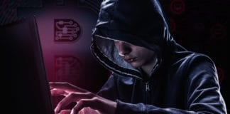 Hacker and bit-coin security password hacking, bit coin virus hack. Concept danger data money and business in Internet - Image