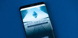 KYRENIA, CYPRUS - SEPTEMBER 8, 2018 Official website of Ethereum project displayed on the smartphone screen. Etherem is an open source public blockchain based distributed computing platform and OS - Image