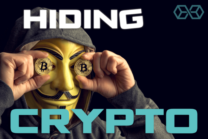Hiding Cryptocurrency