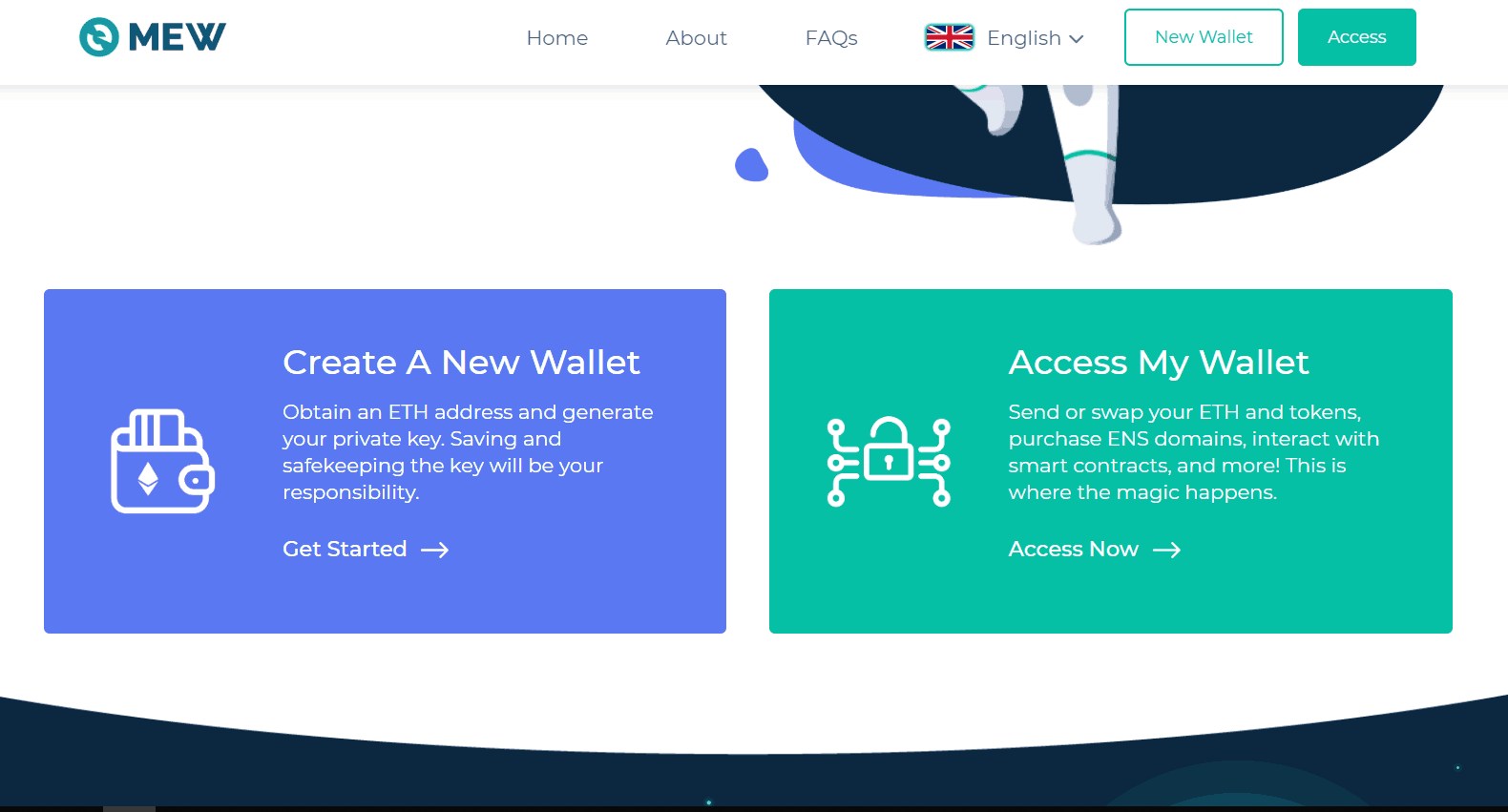 Myetherwallet is the best Ethereum wallet