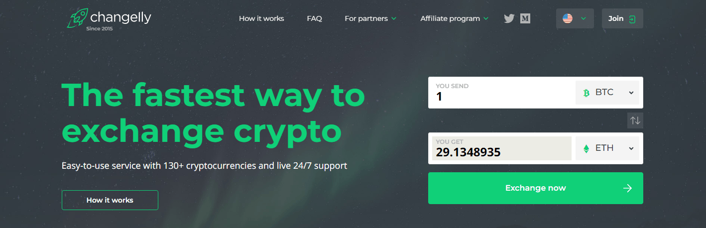 Crypto platform offering intuitive