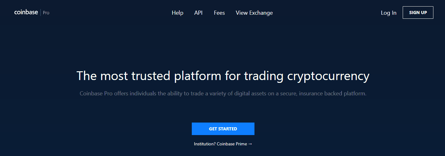 coinbase pro best cryptocurrency exchange