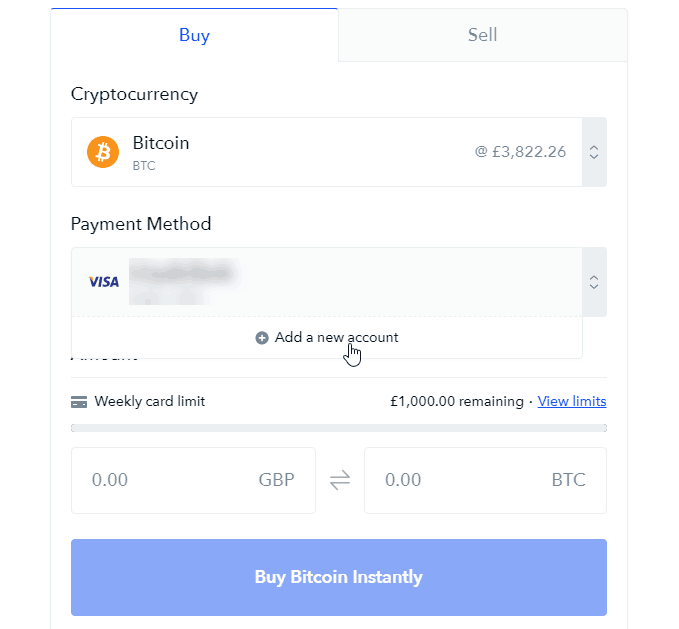 Coinbase Verify Credit Card Earn Bitcoins By Walking Ukk Ugm -