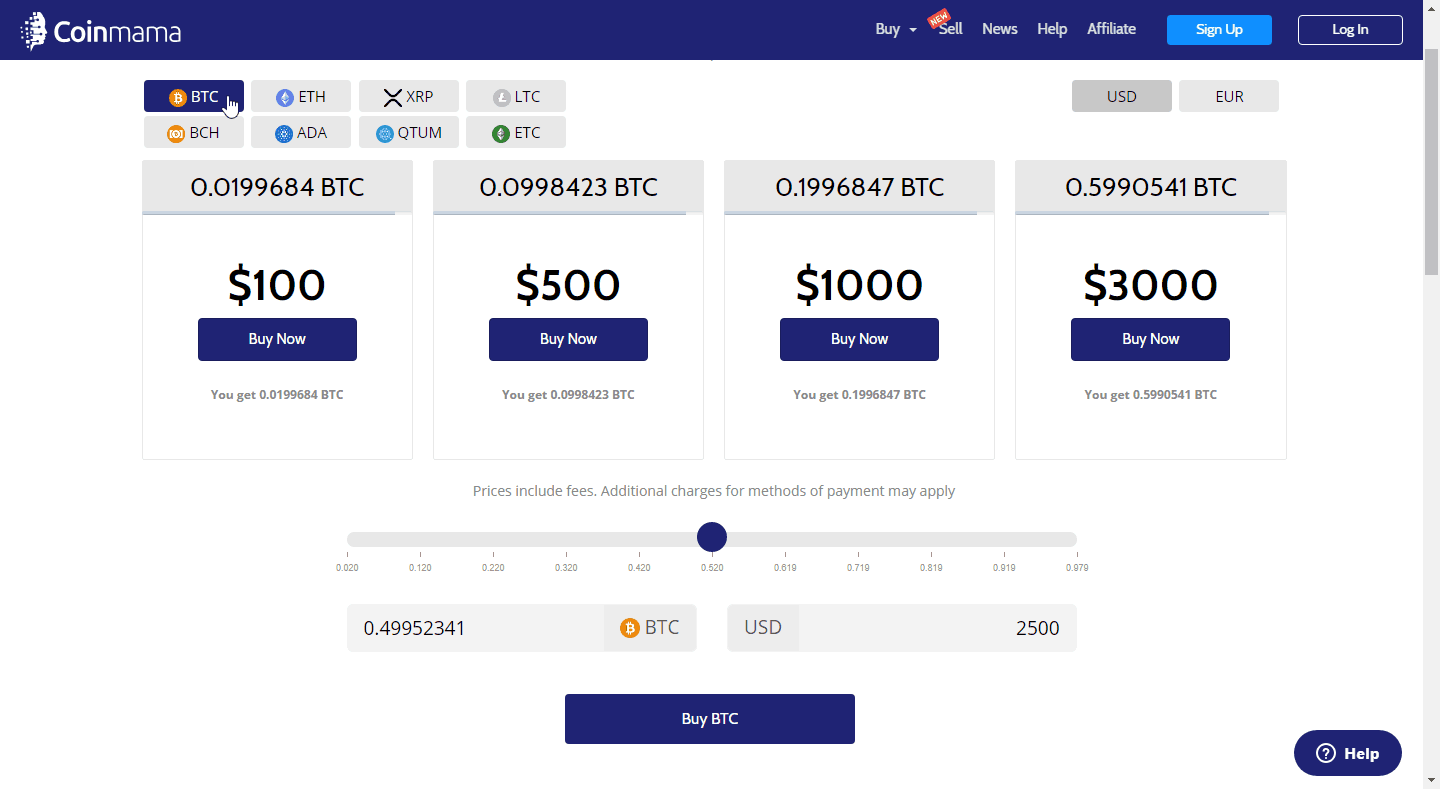 can buy cryptocurrency with my credit card