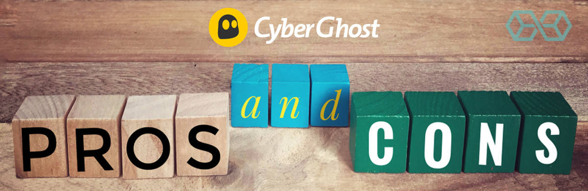 CyberGhost: Pros and Cons - Source: ShutterStock.com