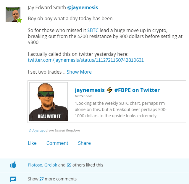 Feed of eToro Investor @jaynemesis