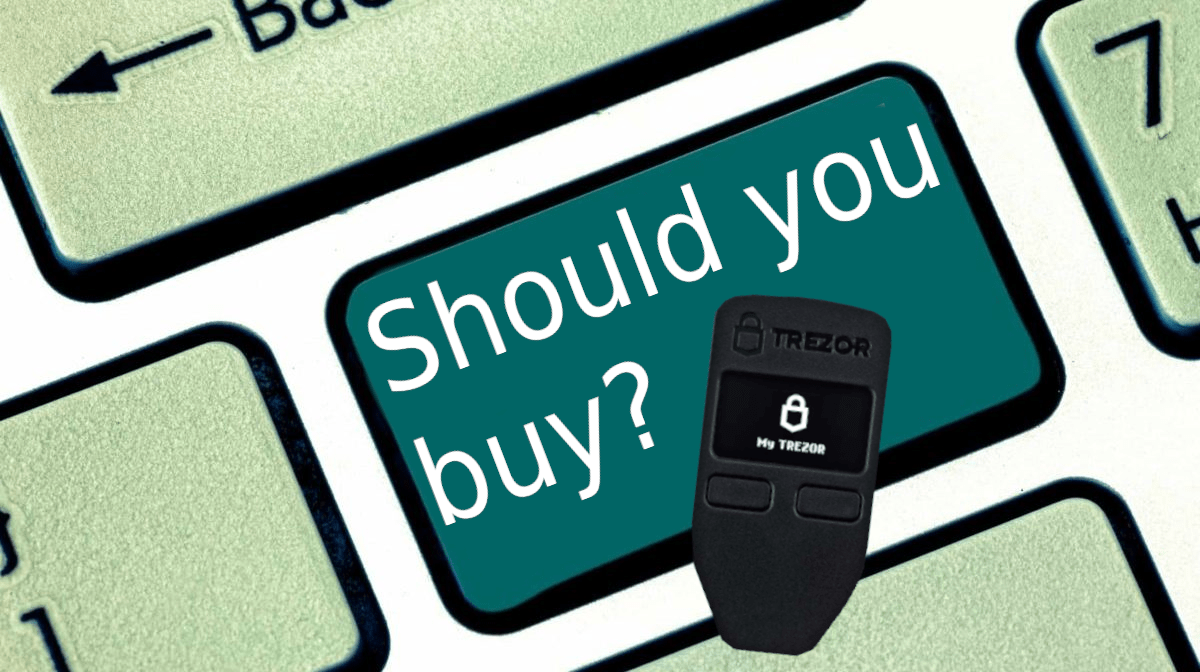 Should you buy the Trezor One?