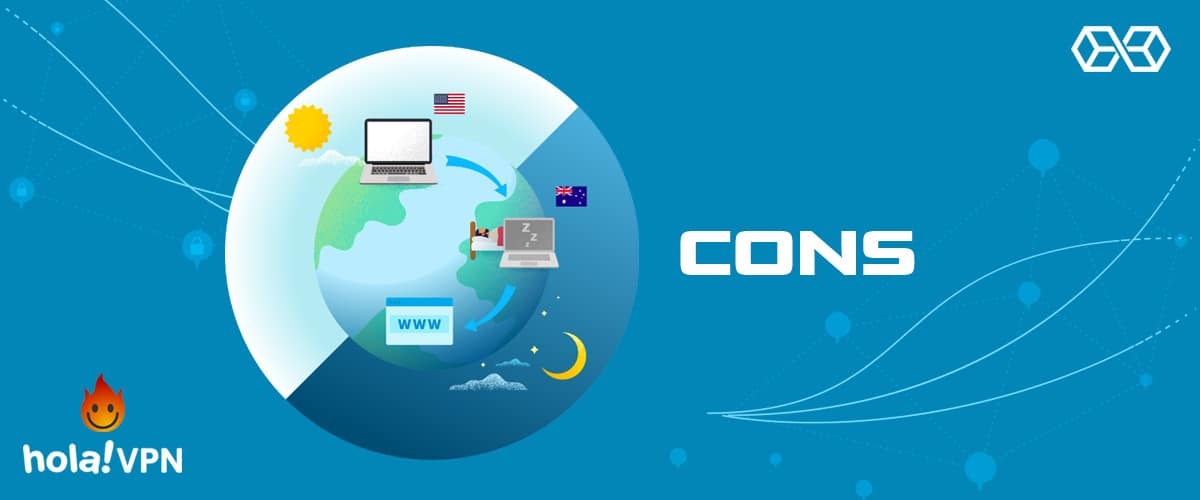 Cons - Hola VPN Review