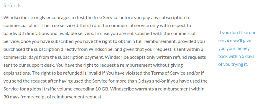 Privacy Policy - Windscribe.com