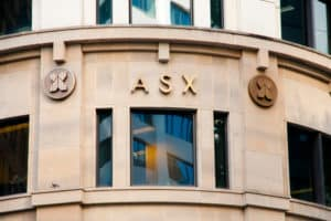 SYDNEY, AUSTRALIA - April 6, 2018 Financial headquarters Australian Securities Exchange (ASX) building - Image