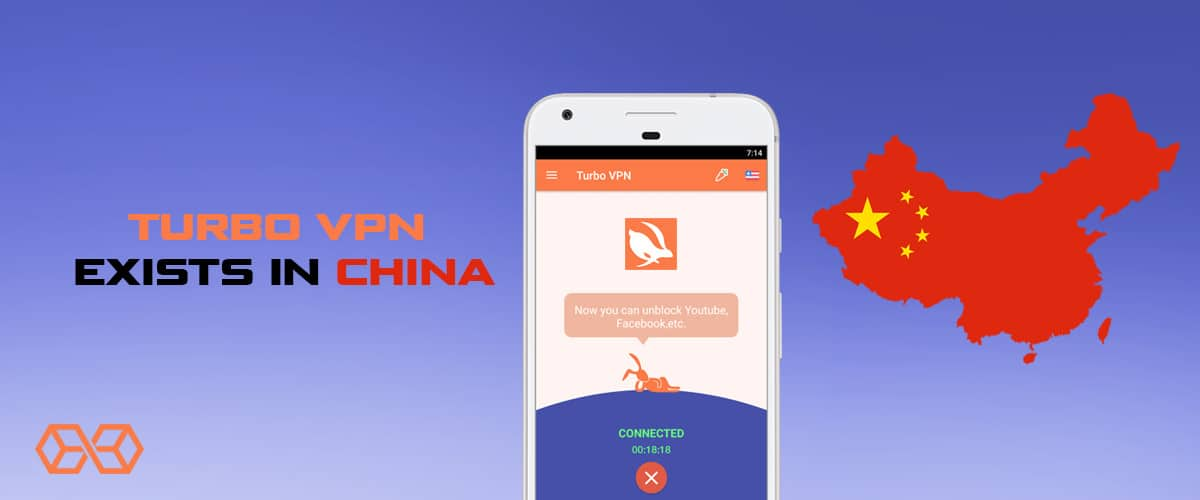 Turbo VPN exists in China