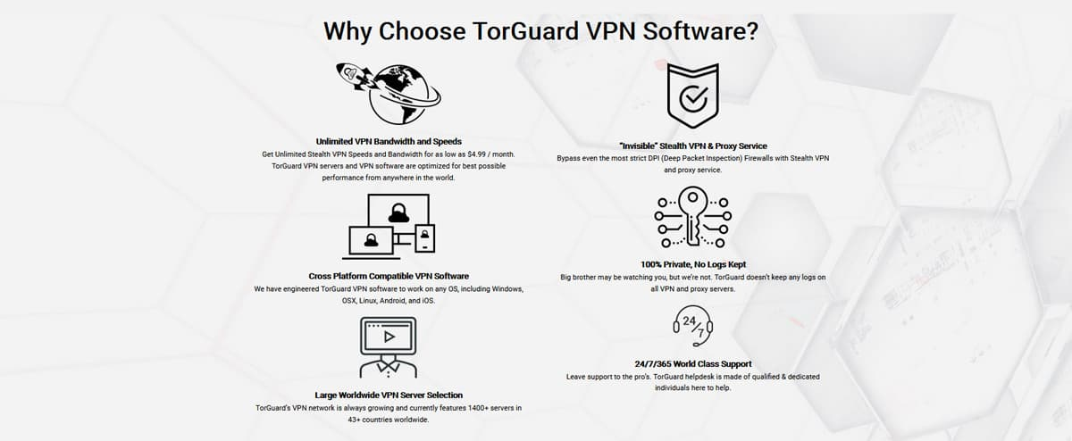 Why Choose TorGuard VPN Software?