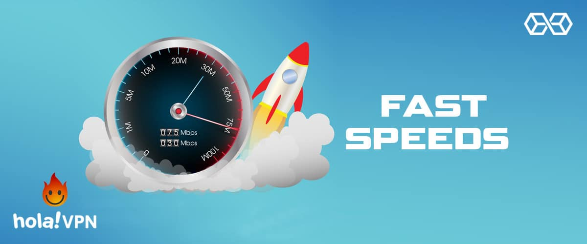 Fast Speeds - Hola VPN - Source: Shutterstock.com
