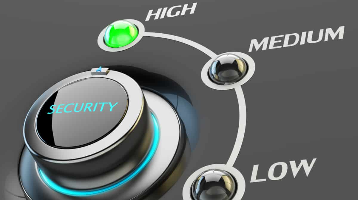 High-End Security – Source: ShutterStock.com