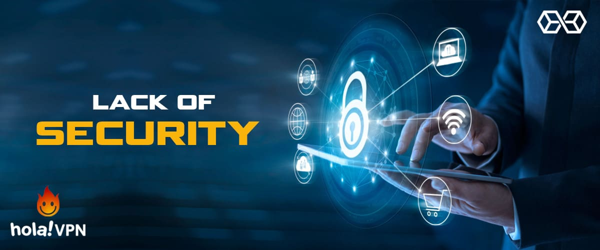 Lack of Security - Hola VPN - Source: Shutterstock.com